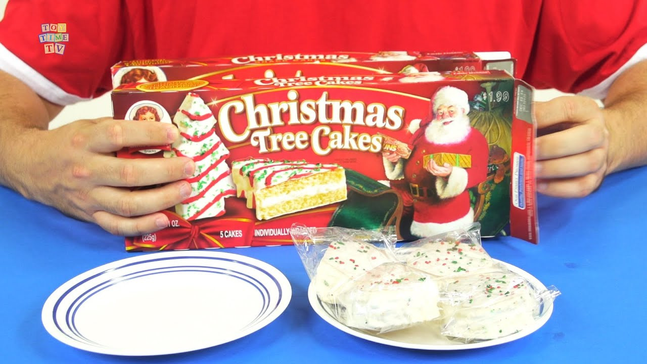 Little Debbie Christmas Cakes  Little Debbie Christmas Tree and Snack Party Cakes