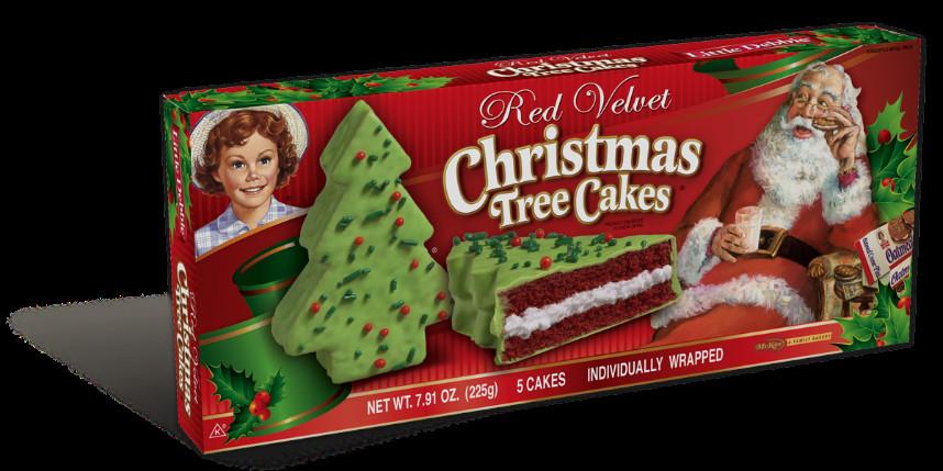 Little Debbie Christmas Cakes  Little Debbie Holiday Cakes