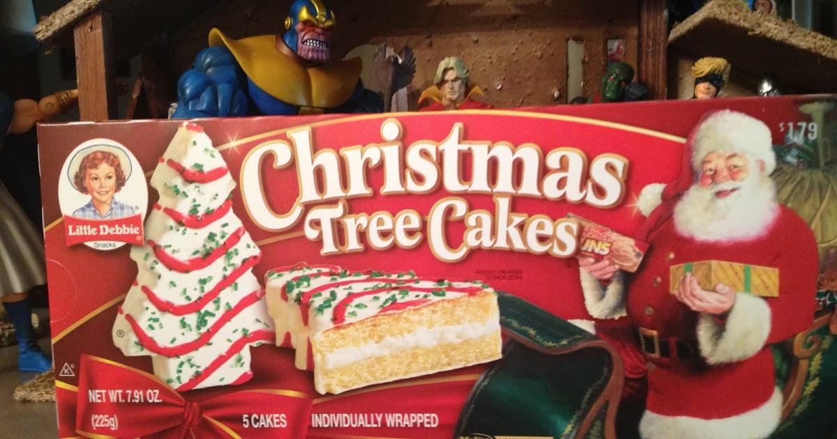 Little Debbie Christmas Cakes  The Nerduary Christmas Treat Review Little Debbie