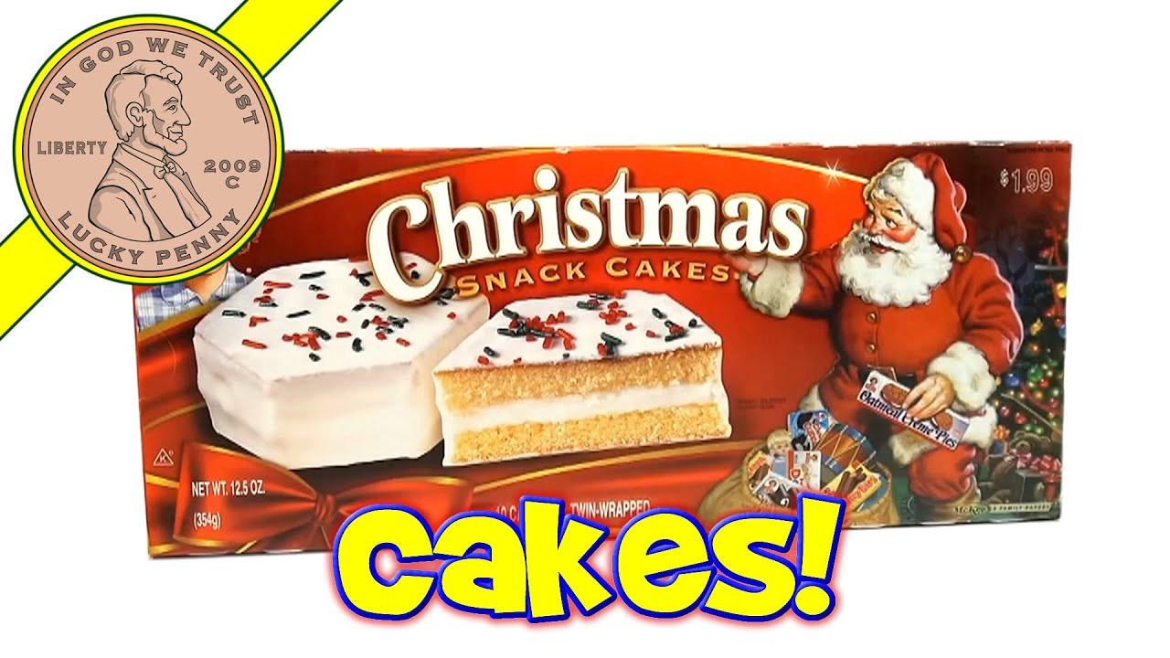 Little Debbie Christmas Cakes  Little Debbie Christmas Snack Cakes 2013 Christmas Candy
