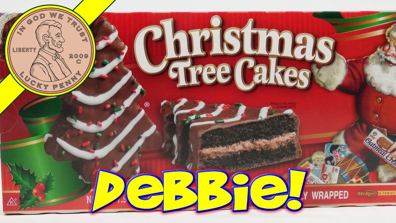 Little Debbie Christmas Cakes  Little Debbie Christmas Tree Snack Cakes Oh Christmas