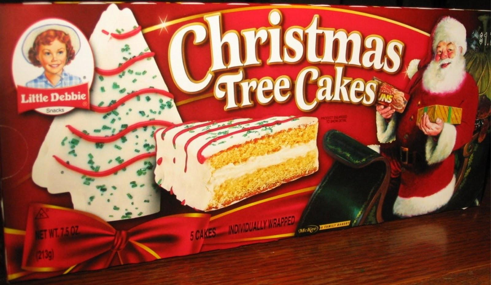Little Debbie Christmas Cakes  The Holidaze Little Debbie Christmas Tree Cakes