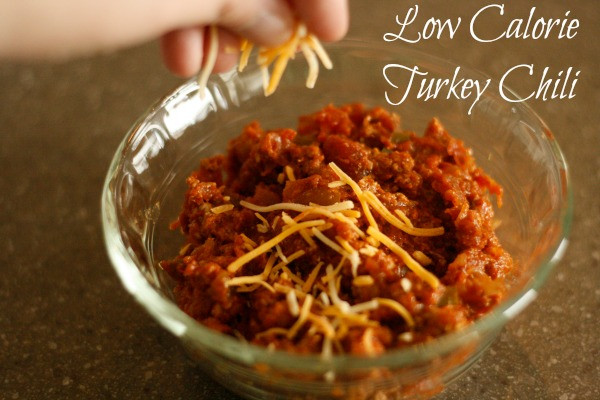 Low Calorie Thanksgiving Recipes  Low Calorie Turkey Chili Recipe • Binkies and Briefcases
