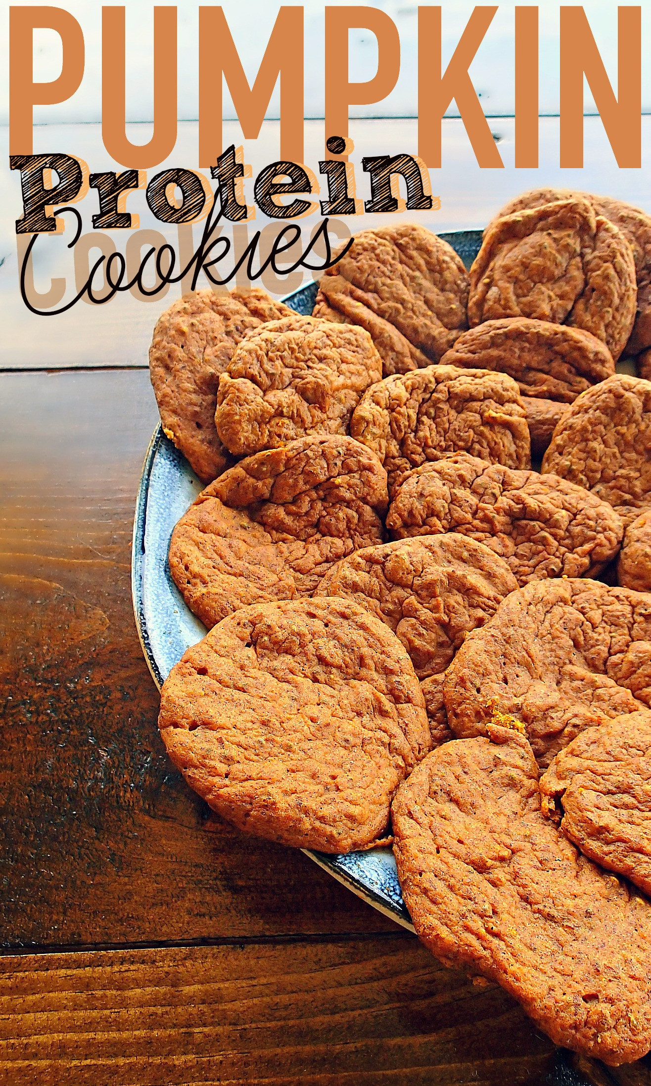 Low Carb Fall Recipes  Low Carb 40 Calorie Pumpkin Protein Cookies – Simply Taralynn