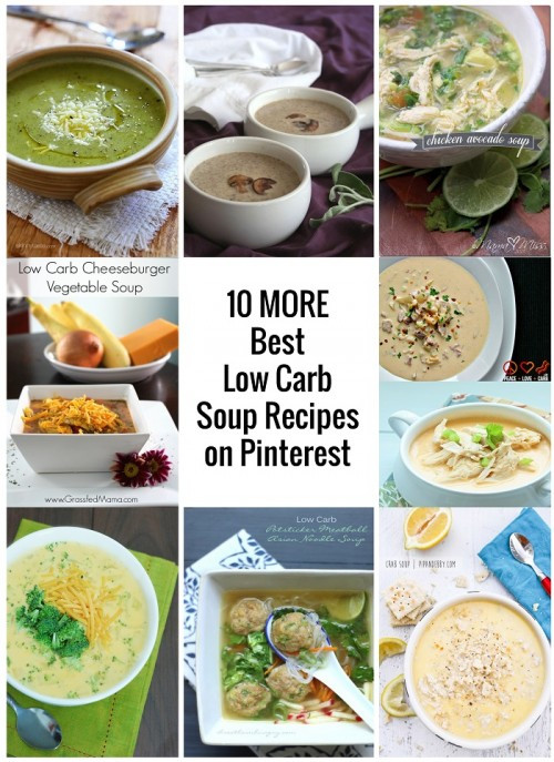 Low Carb Fall Recipes  10 More Best Low Carb Soup Recipes from Pinterest