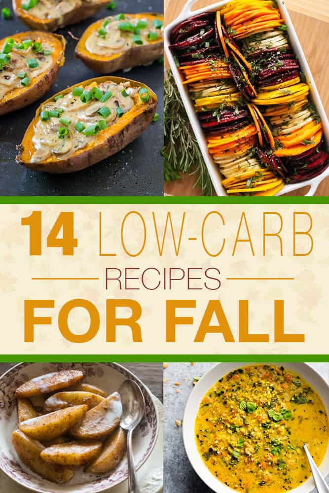 Low Carb Fall Recipes  14 Low Carb Recipes for Fall