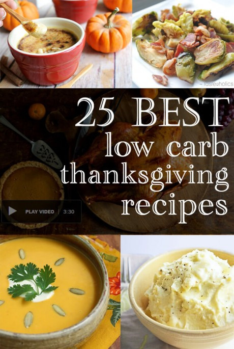 Low Carb Thanksgiving Recipes  25 Low Carb Thanksgiving Recipe Ideas