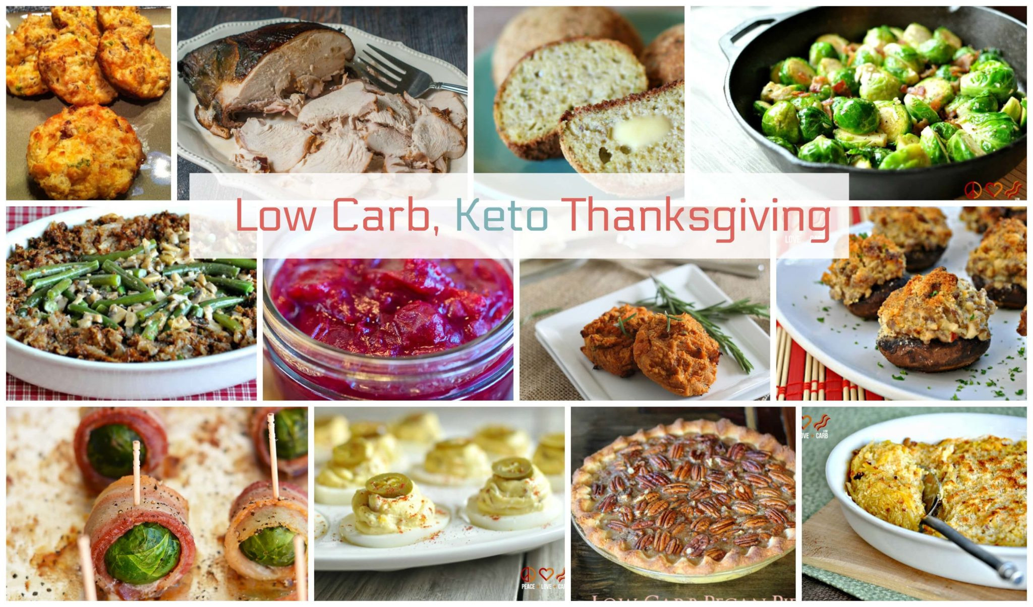 Low Carb Thanksgiving Recipes  Keto Thanksgiving Recipes