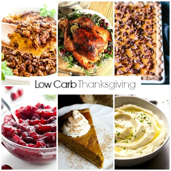Low Carb Thanksgiving Recipes  Low Carb Recipes for Thanksgiving Home Made Interest