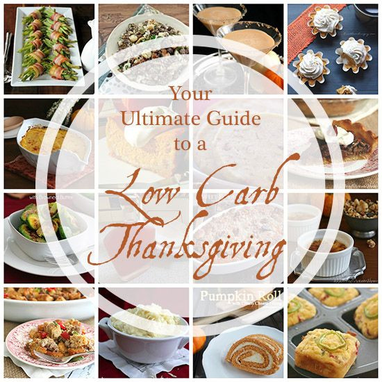 Low Carb Thanksgiving Recipes  Thanksgiving recipes Low carb and Thanksgiving on Pinterest