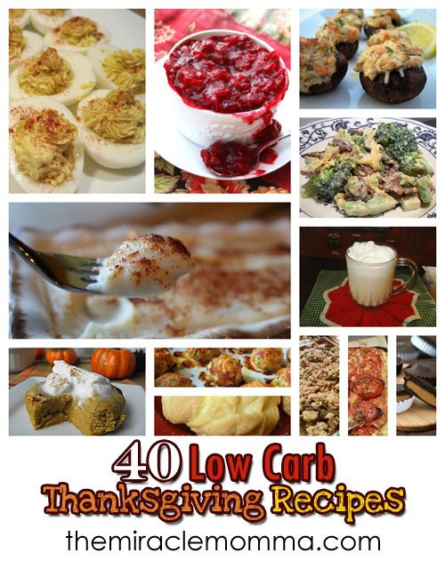 Low Carb Thanksgiving Recipes  40 LC Thanksgiving Recipes Low Carb Pinterest