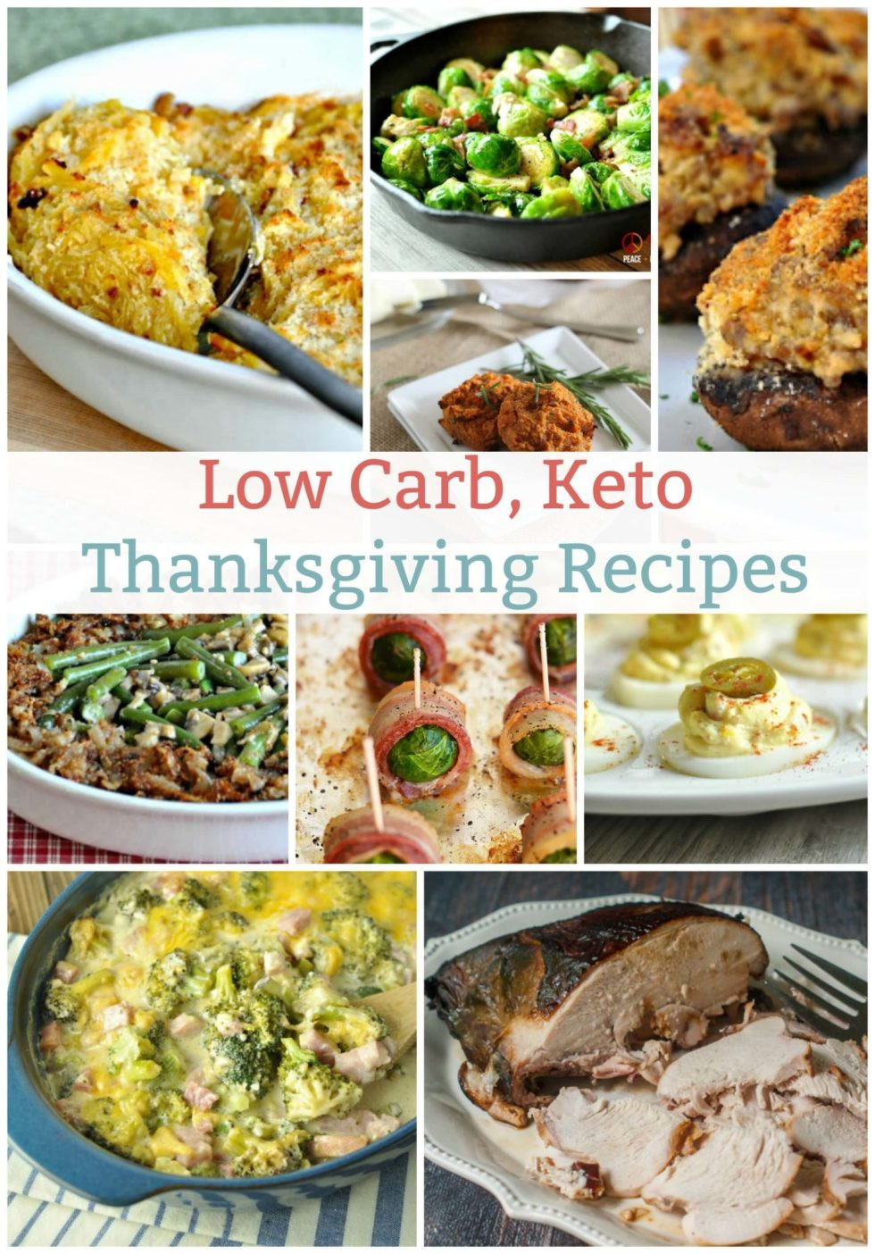 Low Carb Thanksgiving Recipes  Low Carb Keto Thanksgiving Recipes