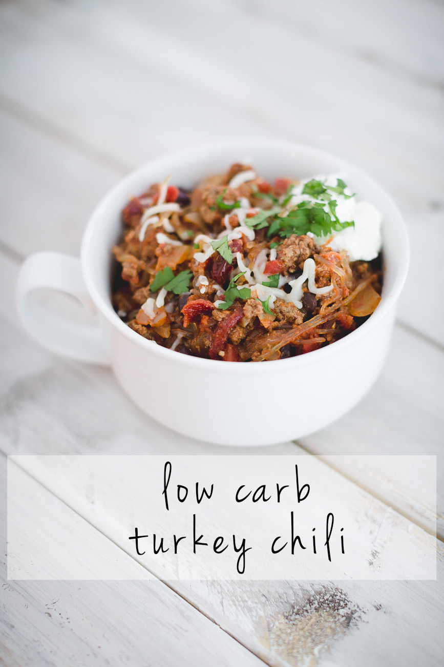 Low Carb Thanksgiving Recipes  Low Carb Turkey Chili Recipe
