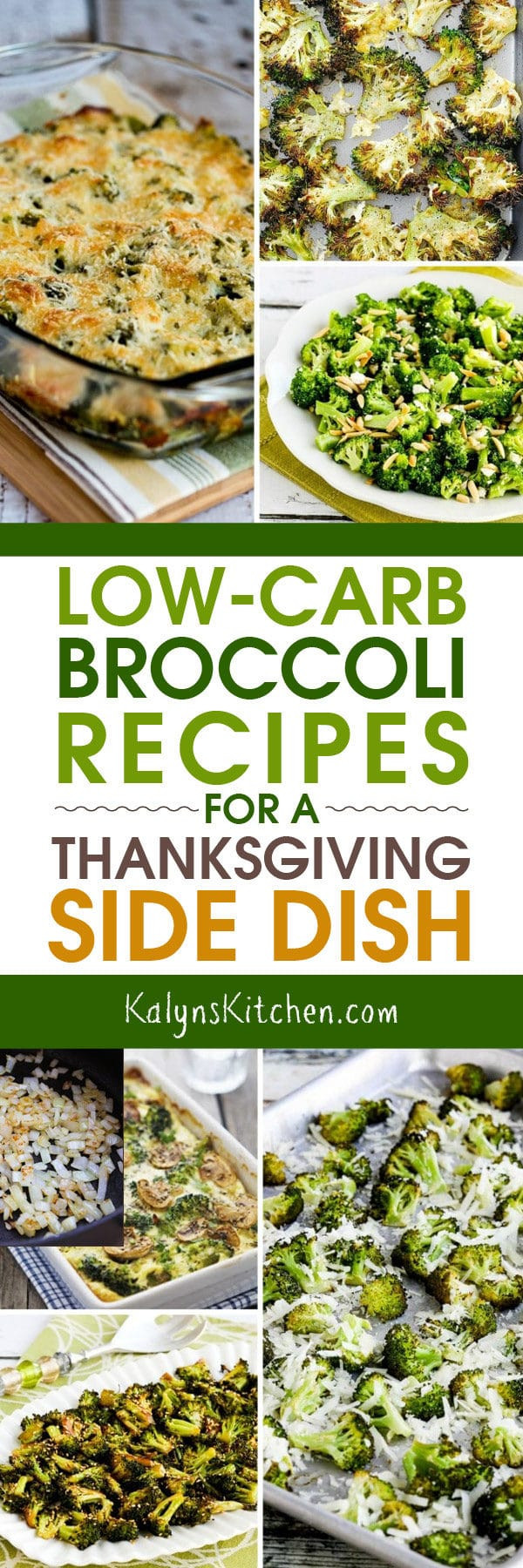 Low Carb Thanksgiving Side Dishes  Low Carb Broccoli Recipes for a Thanksgiving Side Dish