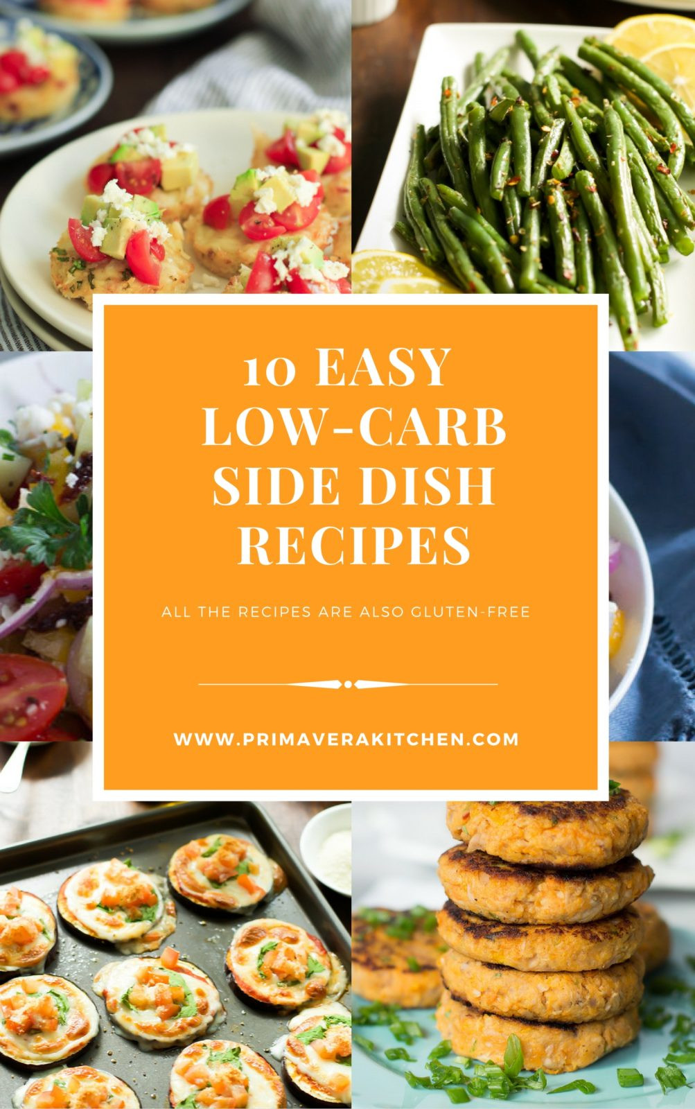 Low Carb Thanksgiving Side Dishes  10 Easy Low Carb Side Dish Recipes Primavera Kitchen