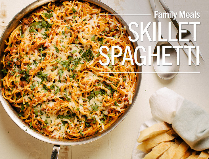 Lunds Thanksgiving Dinners  Lunds & Byerlys easy family dinner skillet spaghetti this