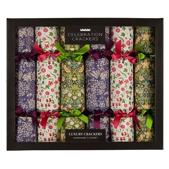 Luxury Christmas Crackers  Liberty print Luxury crackers from Liberty