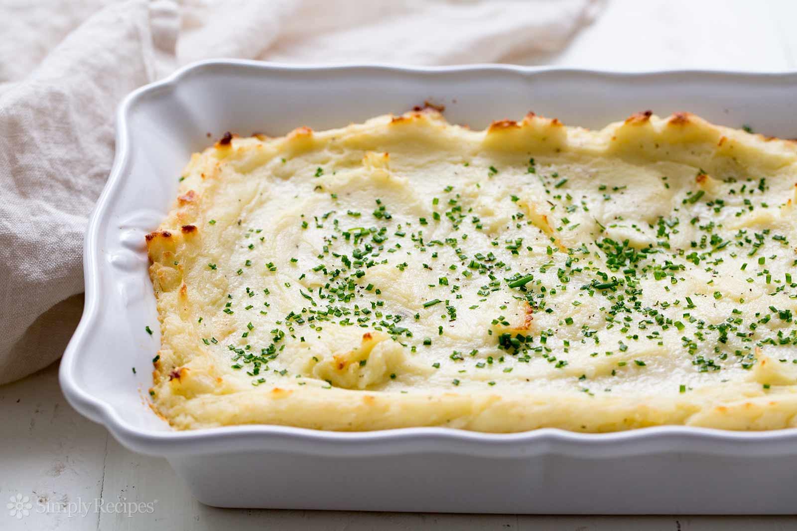 Make Ahead Mashed Potatoes Thanksgiving  Make Ahead Mashed Potatoes Recipe
