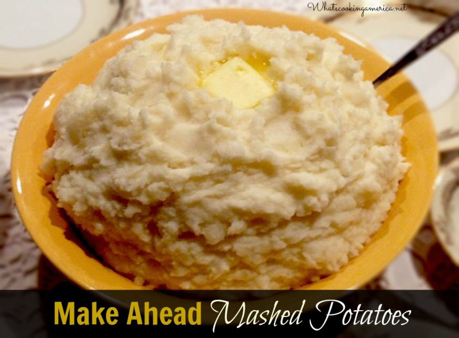 Make Ahead Mashed Potatoes Thanksgiving  Best MakeAhead Mashed Potato Recipe Perfect Mashed Potato