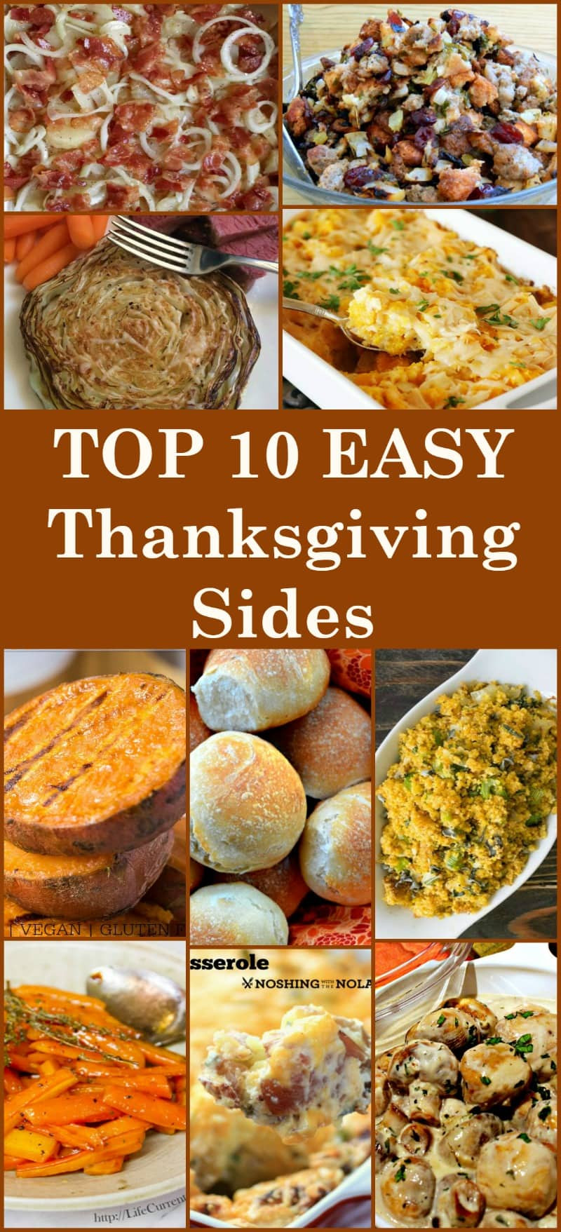 Make Ahead Side Dishes For Thanksgiving  The BEST Top 10 Thanksgiving Sides