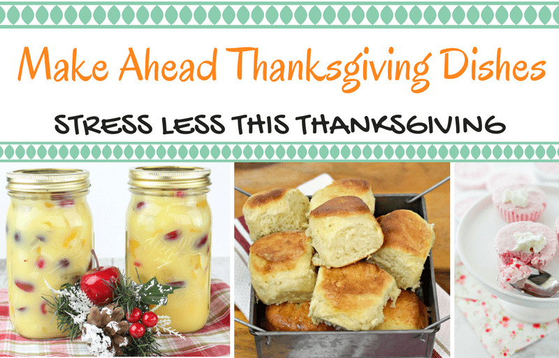 Make Ahead Thanksgiving  Make Ahead Thanksgiving Dishes Southern Plate