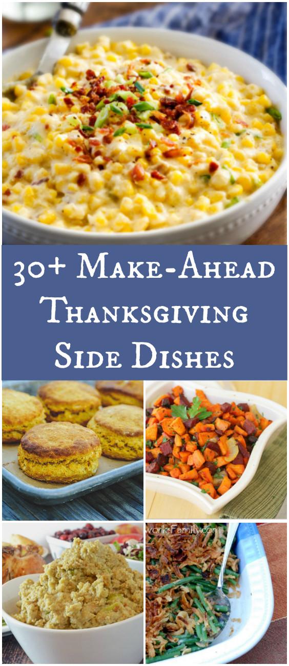 Make Ahead Thanksgiving  30 Make Ahead Thanksgiving Side Dishes – Afropolitan Mom