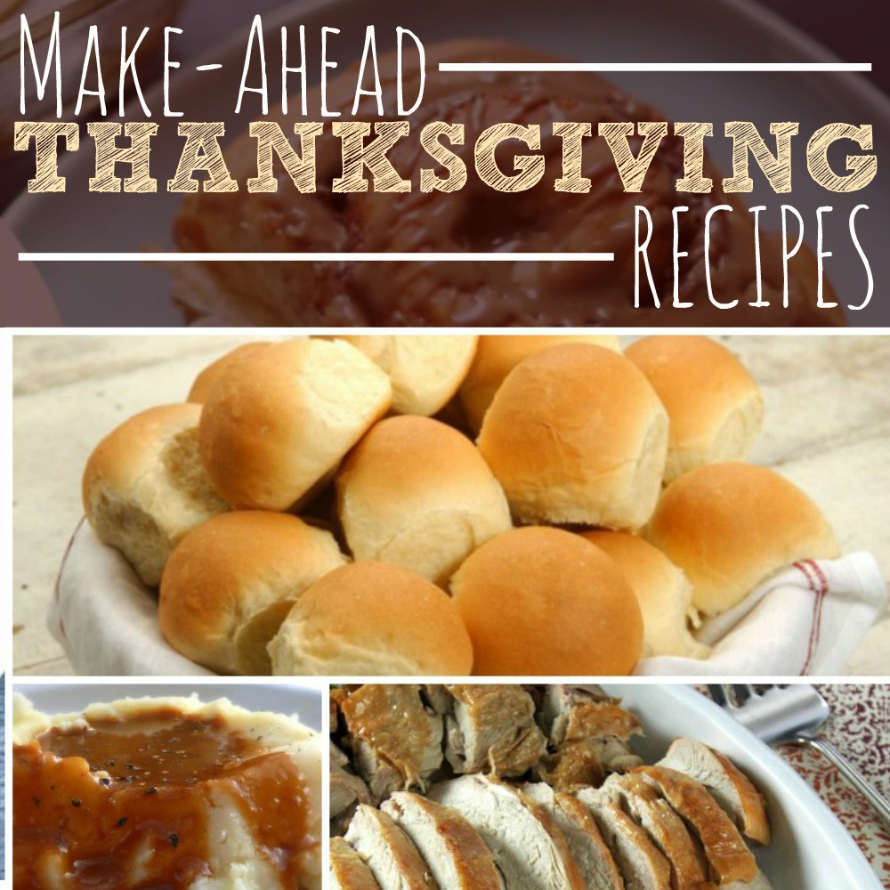 Make Ahead Thanksgiving Desserts  Make Ahead Thanksgiving Recipes The Busy Bud er