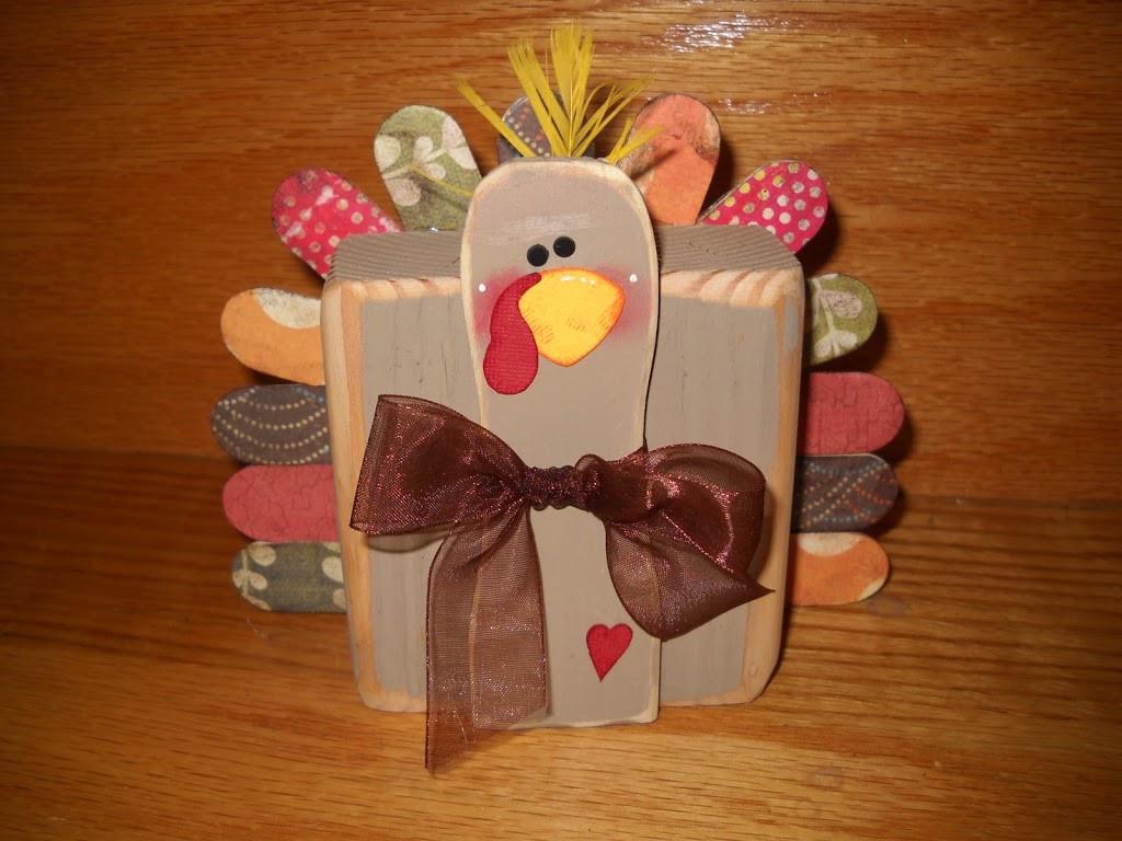 Make Thanksgiving Turkey  2x4 Thanksgiving Turkey Tutorial U Create