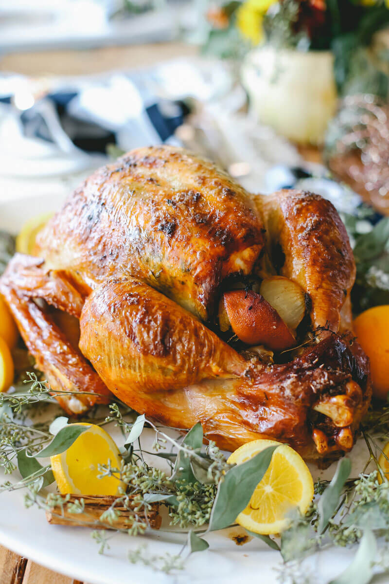Make Thanksgiving Turkey  How to Cook a Perfect Turkey Easy Peasy Meals