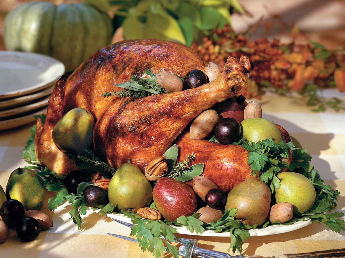 Make Thanksgiving Turkey  How To Cook a Turkey Southern Living