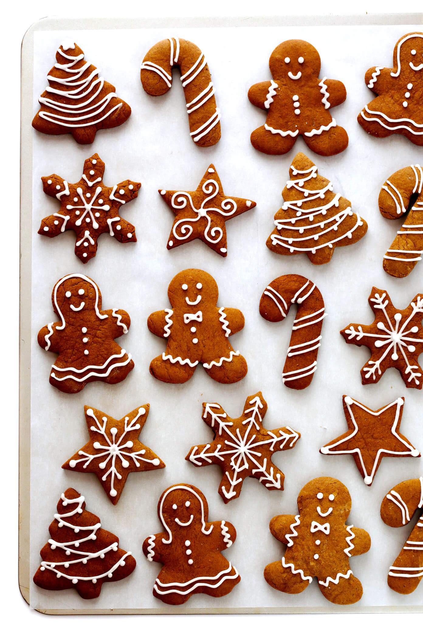 Making Christmas Cookies  Gingerbread Cookies