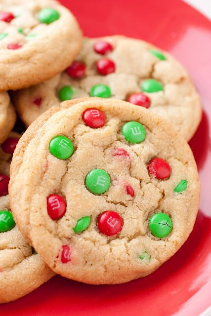M&M Christmas Cookies Recipe  33 Delicious Christmas Dessert Recipes – The WoW Style