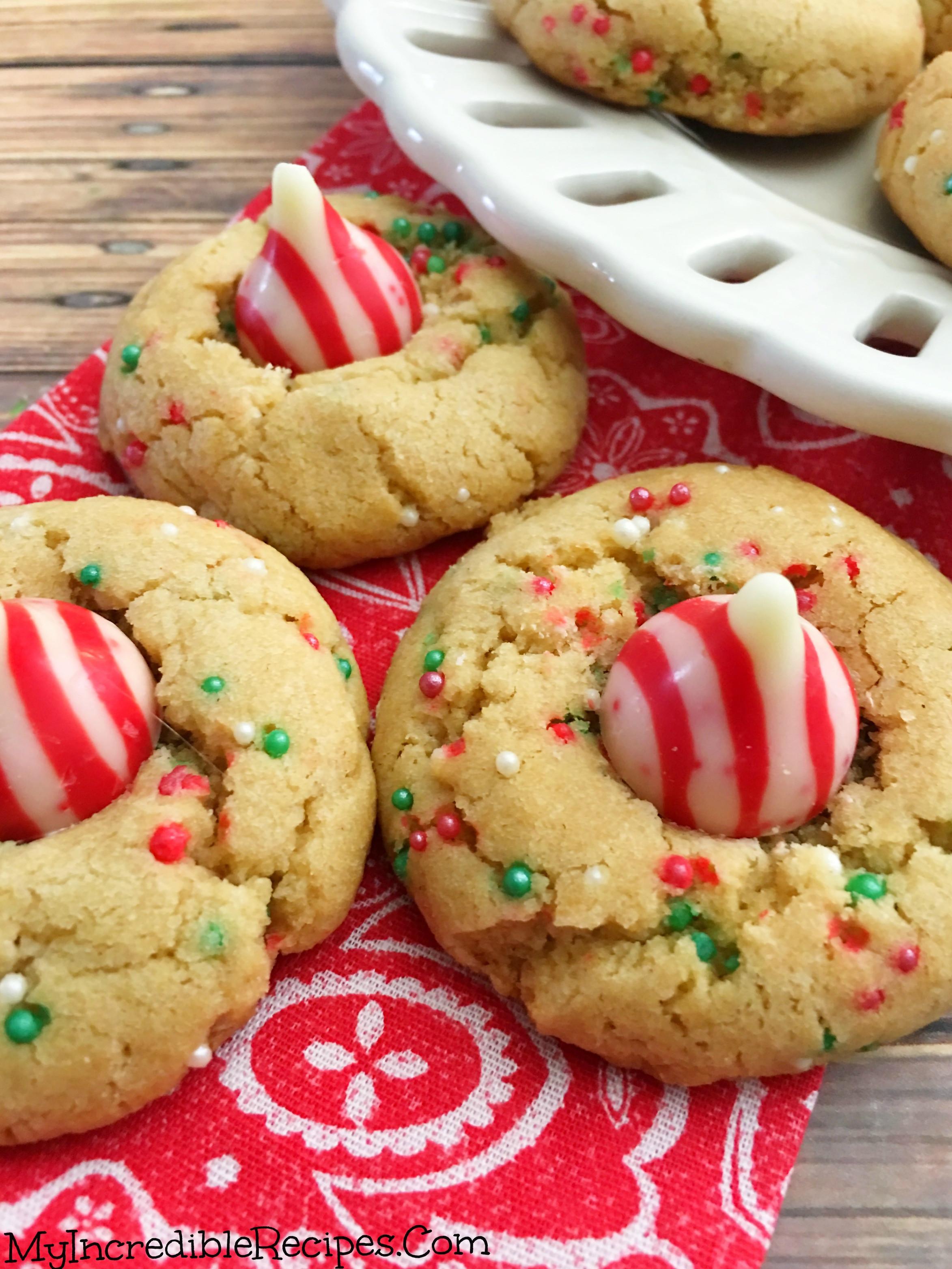 M&M Christmas Cookies Recipe  Peanut Butter Christmas Cookies