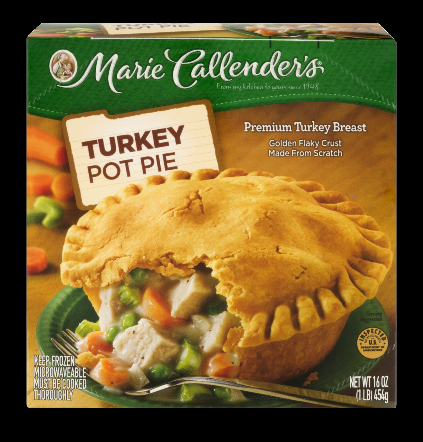 Marie Callender'S Thanksgiving Dinner  Marie Callender s Turkey Pot Pie 16 Oz Frozen