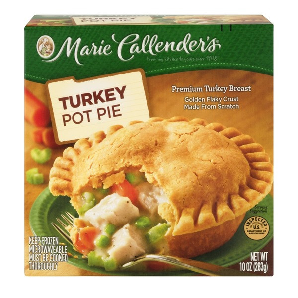 Marie Callender'S Thanksgiving Dinner  Marie Callender s Pot Pie Turkey from Kroger Instacart