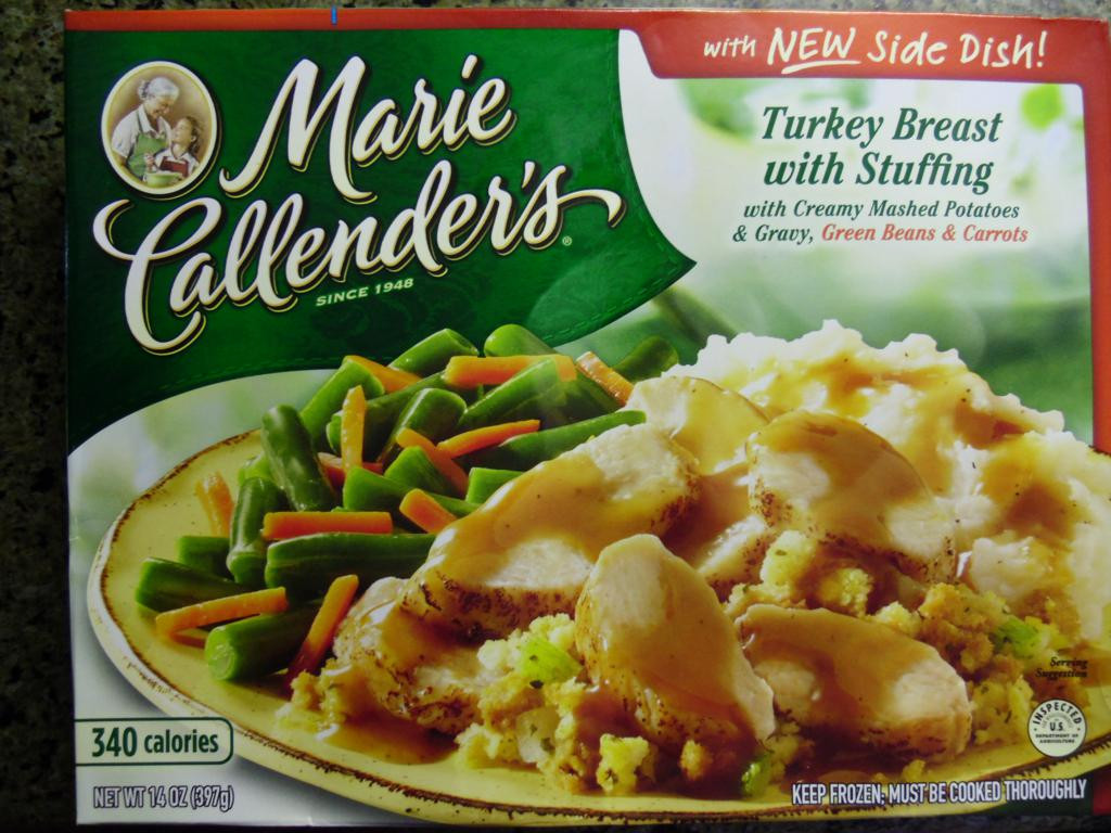 Marie Callenders Thanksgiving Dinner  Marie Callender s Turkey Breast with Stuffing Review