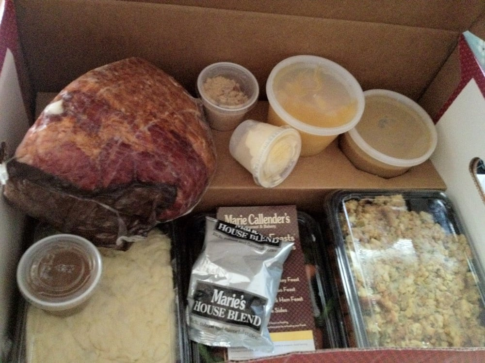 Marie Callenders Thanksgiving Dinner  Easiest Thanksgiving dinner in a box $$ Yelp
