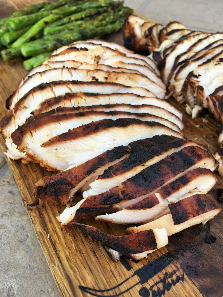 Marinate Thanksgiving Turkey  Marinated Smoked Turkey Breast Recipe