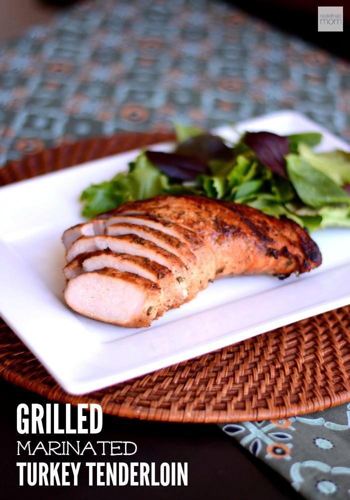 Marinated Turkey Recipe Thanksgiving  Grilled Marinated Turkey Tenderloin Recipe