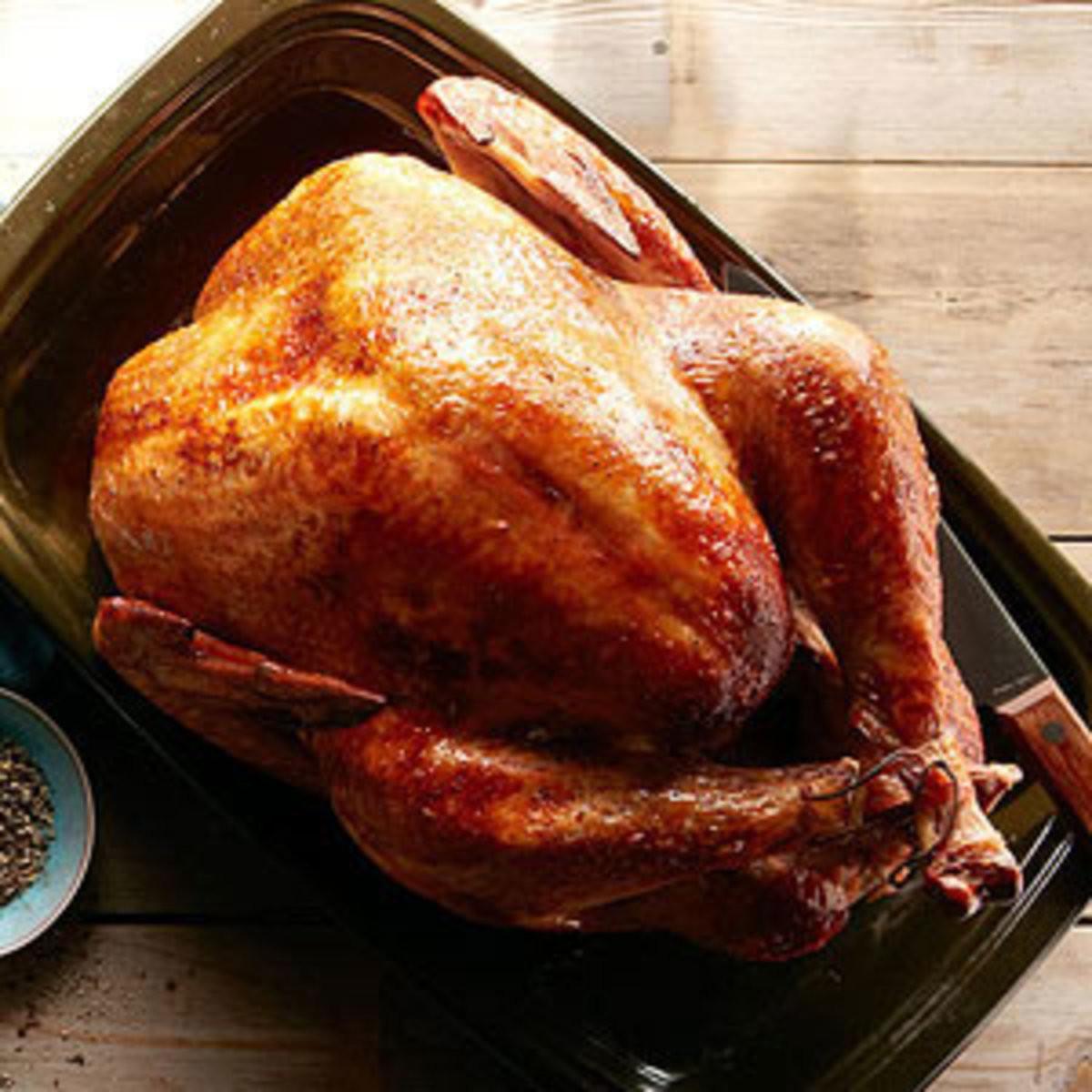 Marinated Turkey Recipe Thanksgiving  Thanksgiving Turkey Recipes Rachael Ray Every Day