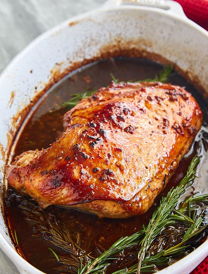 Marinated Turkey Recipe Thanksgiving  Roasted Marinated Turkey Breast i FOOD Blogger