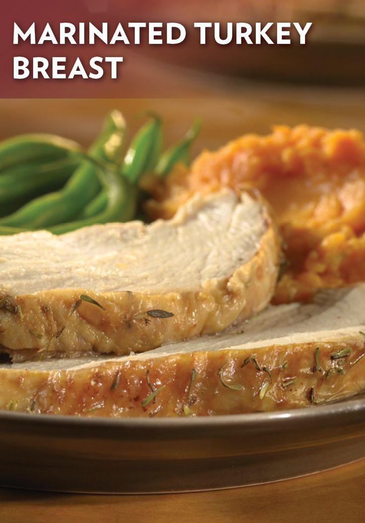 Marinating Thanksgiving Turkey  Marinated Turkey Breast Recipe