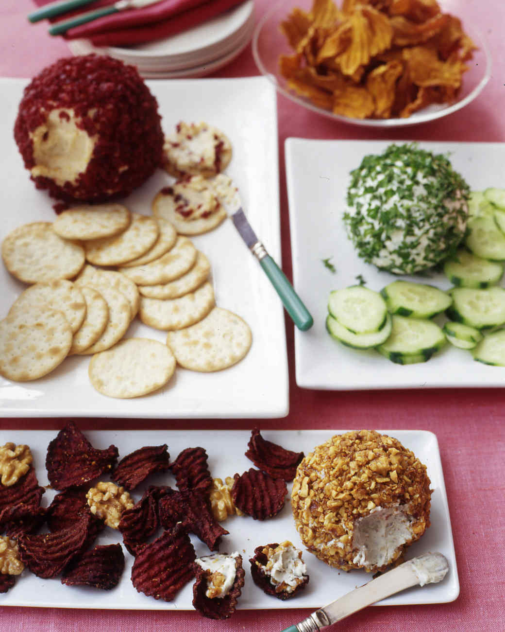 Martha Stewart Christmas Appetizers  Dips and Spreads