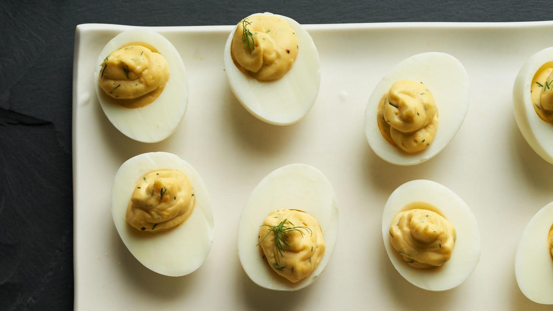 Martha Stewart Halloween Deviled Eggs  Deviled Egg Recipes