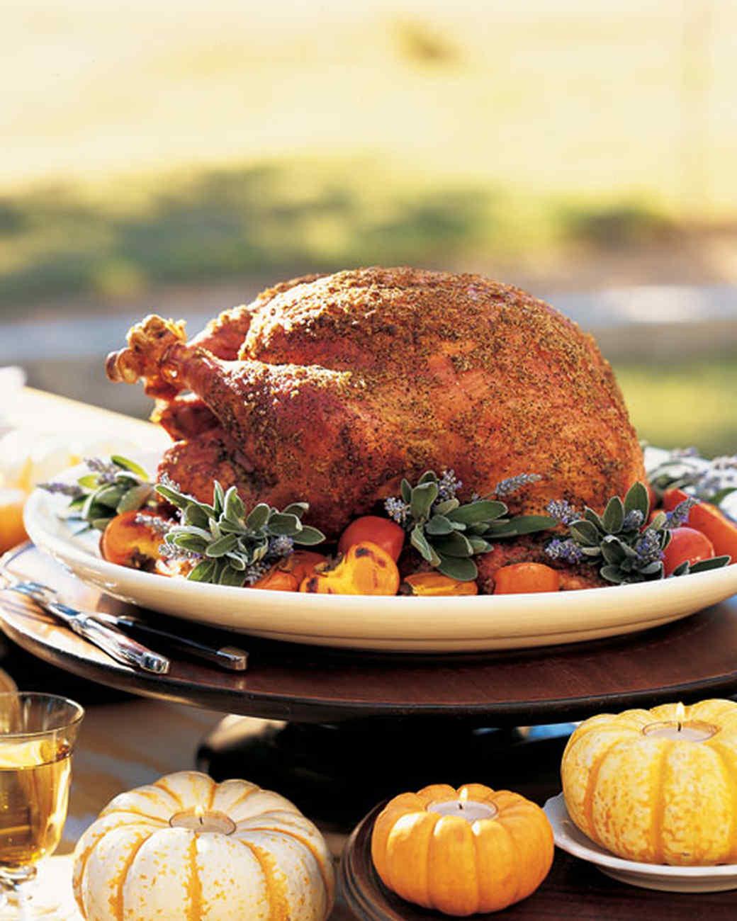 Martha Stewart Thanksgiving Turkey  38 Terrific Thanksgiving Turkey Recipes