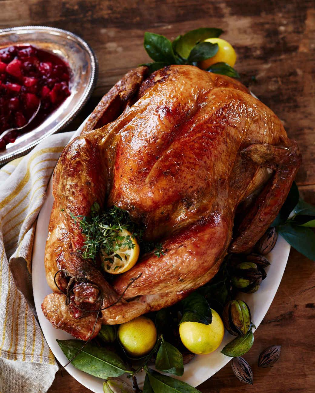 Martha Stewart Thanksgiving Turkey  A Virginia Family s Thanksgiving Recipes