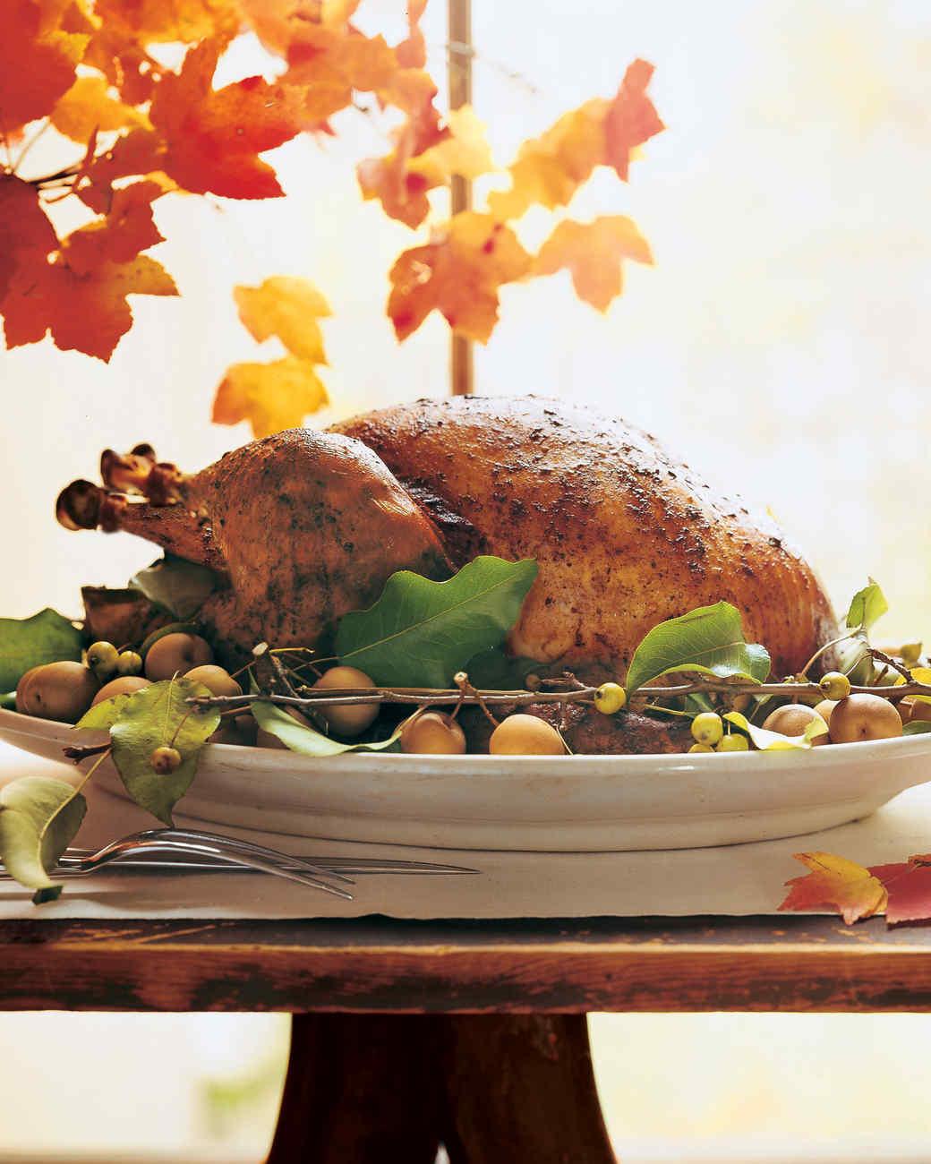 Martha Stewart Thanksgiving Turkey  Spice Butter Recipe