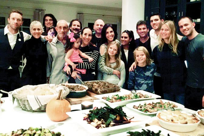 Martins Thanksgiving Dinners  Gwyneth Paltrow and ex hubby Chris Martin s Thanksgiving