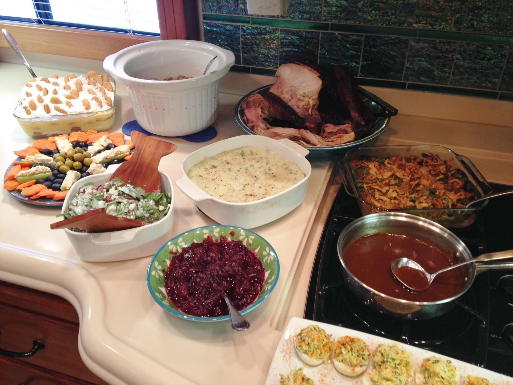 Martins Thanksgiving Dinners  Illinois Part I Effingham