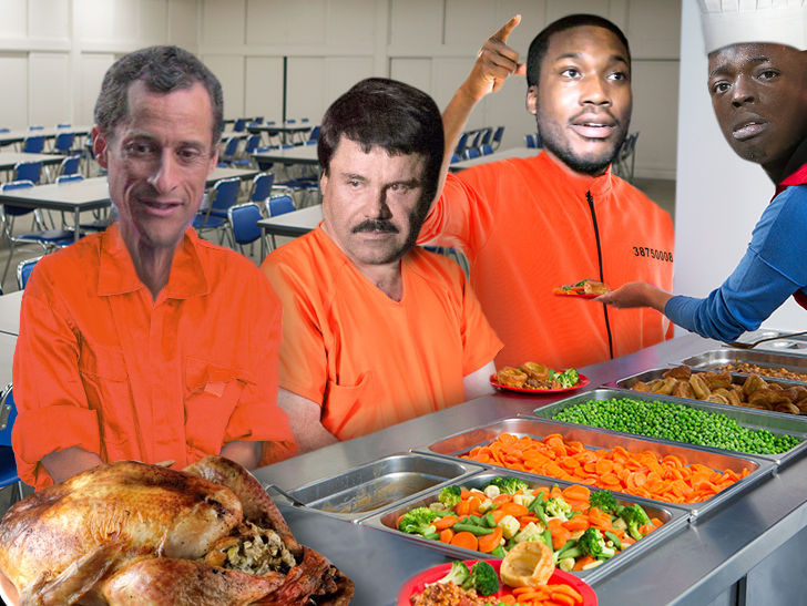 Martins Thanksgiving Dinners  Celeb Convicts Meek Mill El Chapo Bobby Shmurda Will Eat